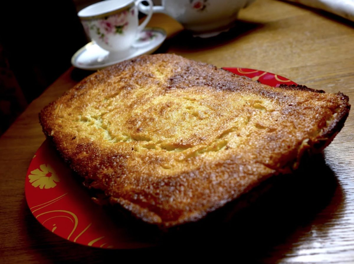 КАШЗАМ. Лучше манной каши! Яблочный пирог с манкой