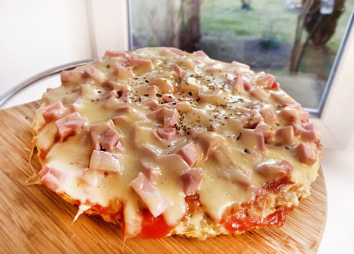 Пицца из гречки на сковородке. Необычно!