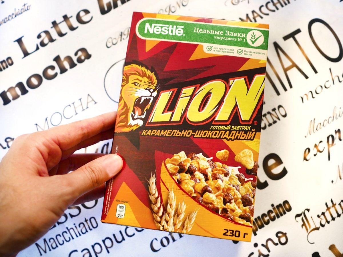 Завтрак Lion. Повелся на яркую упаковку. Мой отзыв о хлопьях Lion