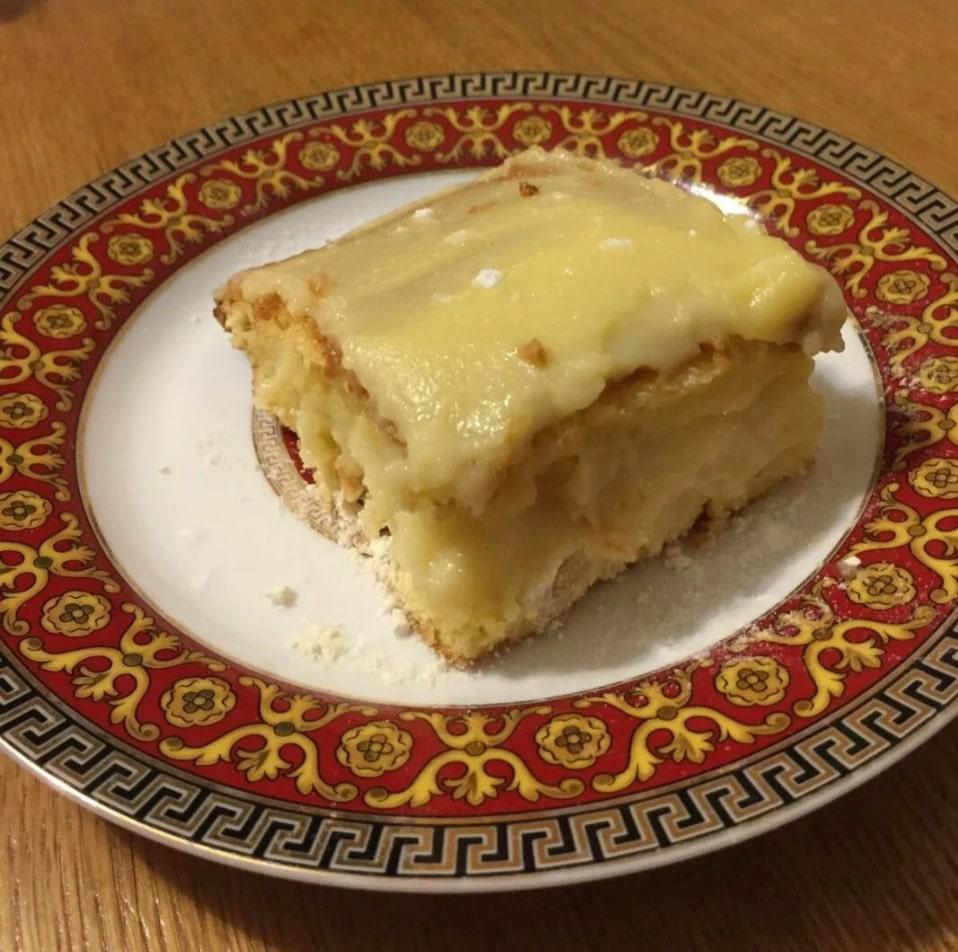 Готовим быстрый тортик с заварным кремом. Из простых продуктов